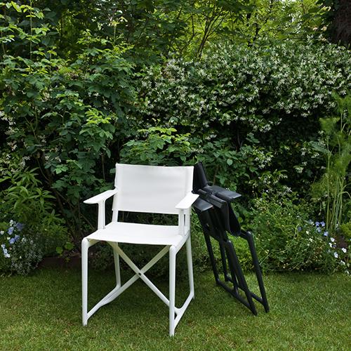 Stanley è la sedia pieghevole da regista firmata da Philippe Starck per Magis