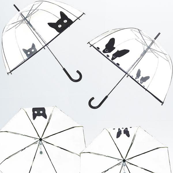 Ecco l'ombrello giusto per gli amanti degli animali: Chat & Chien di Gift Company Italy