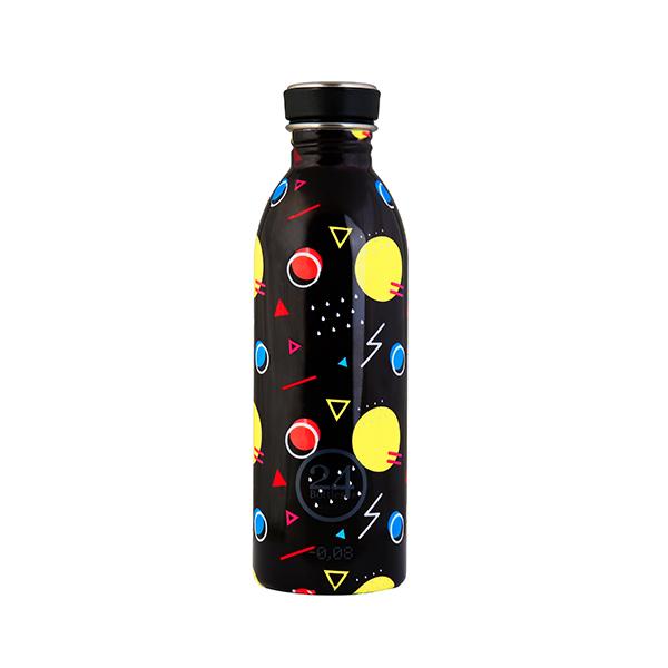 In acciaio inossidabile, resistenti, leggere, colorate e infinitamente riutilizzabili: sono le bottiglie di 24Bottles