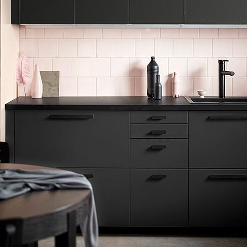 Come tutti i frontali delle cucine Ikea, le ante Kungsbacka sono garantite 25 anni