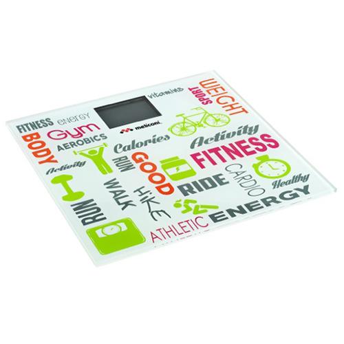 Energia, attività aerobica, sport sono le parole chiave della bilancia Fitness di Meliconi (27,49 euro)