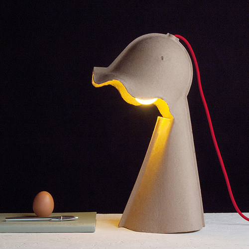 Egg of Columbus - Design Valentina Carretta, prodotto da Seletti