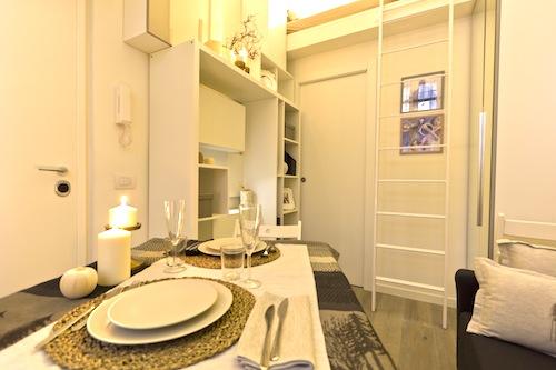 Da magazzino in monolocale di 23 metri quadrati casa - Mobili per monolocale ...