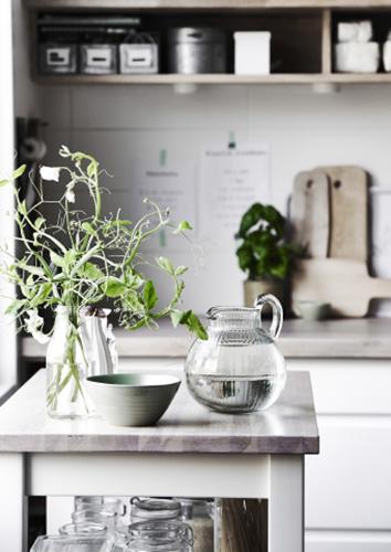 La cucina si presta benissimo per essere arredata con le piante, soprattutto con quelle di spezie e odori