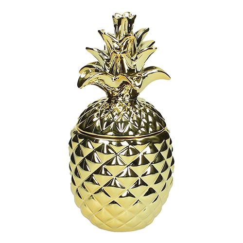 """Per chi preferisce i piccoli dettagli: un vaso decorativo con l'inconfondibile silhouette dell'ananas, il frutto esotico per eccellenza. Su <a href=""""http://www.dalani.it"""">Dalani.it</a>"""