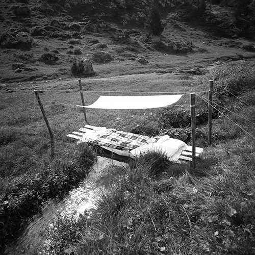 Image from the series «Metafore», Predazzo, 1976 (photo: Ettore Sottsass - courtesy: Studio Ettore Sottsass)