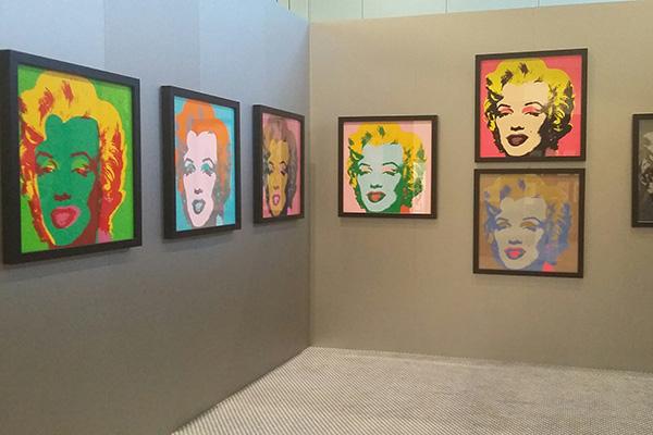 """Hublot, da sempre vicino al mondo dell'arte, sponsorizza la grande mostra """"Andy Warhol Vip Society"""" allestita fino al 17 settembre nel Conference Center di Porto Cervo"""