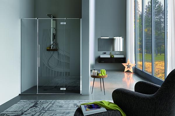 Zenith è la nuova cabina doccia di Samo. Tra i punti di forza le cerniere a filo e l'impiego del vetro temperato da 8 millimetri con l'innovativo trattamento StarClean che rende le superfici più brillanti e resistenti agli urti