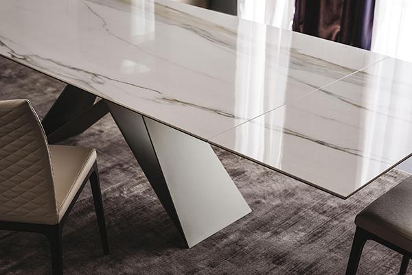 Premier keramik drive il nuovo tavolo firmato cattelan for Tavolo effetto marmo