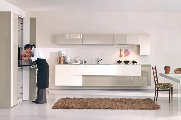 """Altra composizione di <em>36e8 kitchen</em> di <a href=""""http://www.lago.it/"""">Lago</a>"""