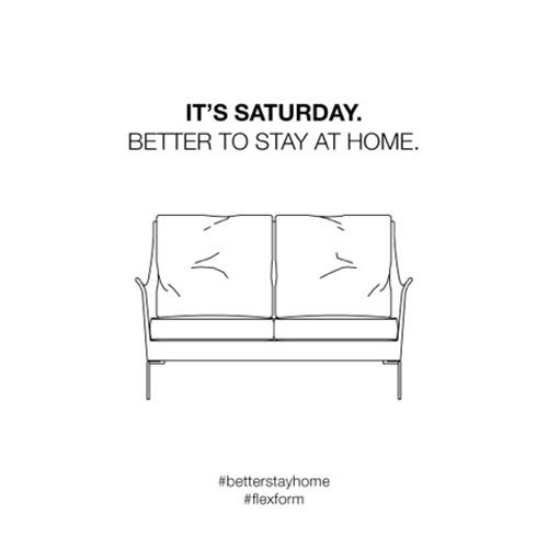 Ogni sabato sui social network di Flexform viene pubblicata una nuova situazione di spiritosa quotidianità