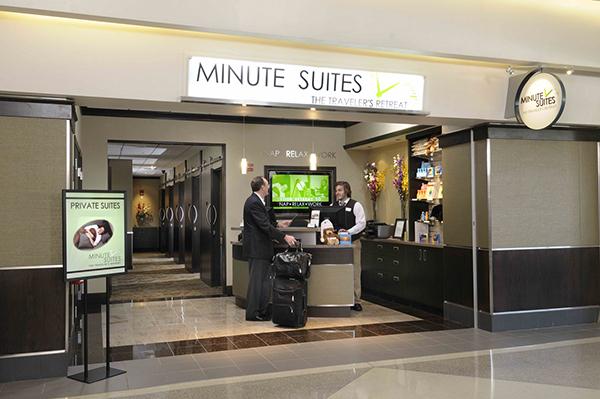 Minute suites, aeroporto internazionae di Philadelphia, USA