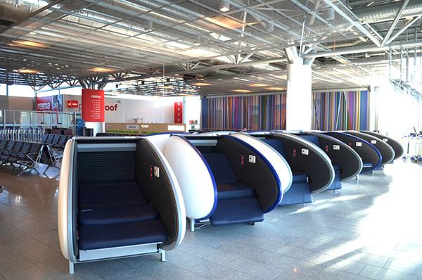 GoSleep, aeroporto Helsinki-Vantaa, Finlandia