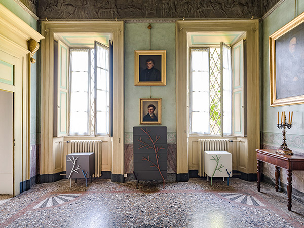 Palazzo Agliardi, design Alessandra Baldereschi 2016 (photo Ezio Manciucca)