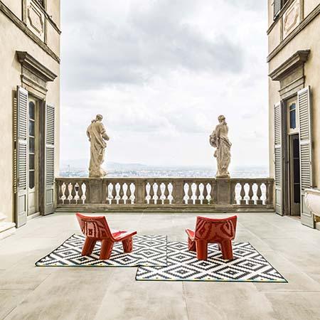Paola Navone&RosaMaria Rinaldi, Palazzo Terzi (photo Ezio Manciucca)