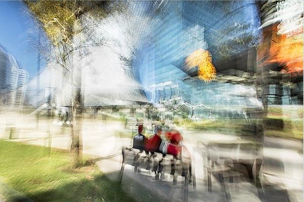 """""""Mexico City"""" di Roberto Polillo del 2017 (1.500 euro il formato piccolo)"""