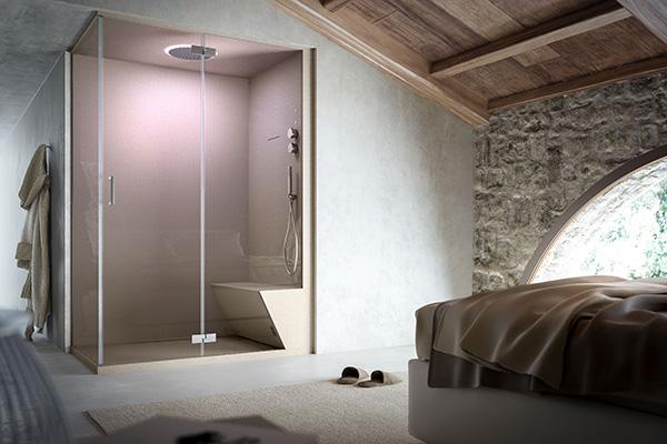 Lui lei e il bagno casa design for La casa di stile dell artigiano progetta una storia