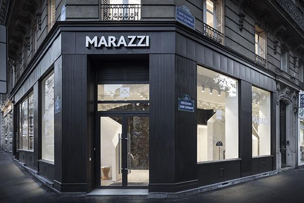 Il nuovo showroom Marazzi ha aperto a Parigi nel quartiere di Saint-Germain-des-Prés