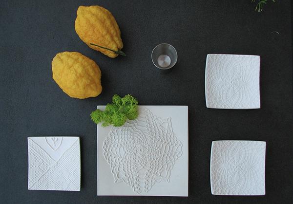 Crochet di Peppino Lopez: dalla polvere di marmo prendono forma eleganti intrecci e preziosi ricami che si ispirano alla lavorazione del merletto siciliano