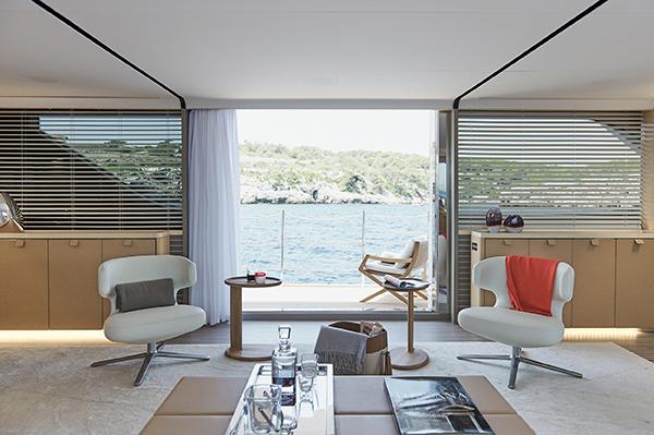 """Per la categoria """"Design per  la mobilità"""" tra i selezionati lo yacht SD112/54 di Sanlorenzo"""