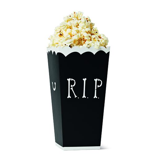 Nella ricca collezione dedicata ad Halloween di  Flying Tiger Copenhagen anche un originale sacchetto  porta popcorn (1 euro)
