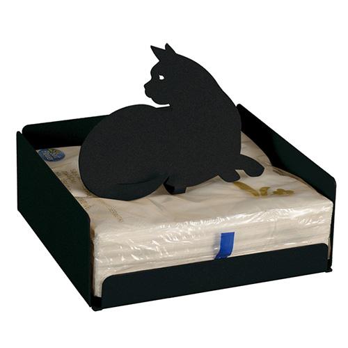 Porta tovaglioli di Arti & Mestieri con un gatto nero, il miglior amico delle streghe (27 euro)