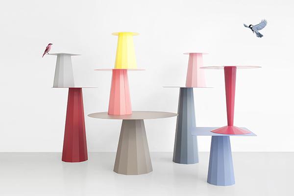 "La collezione di tavoli<em>Ankara</em> per <a href=""http://www.matieregrise-decoration.fr/"">Matière Grise</a>(© Constance Guisset Studio)"