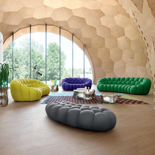 Dal 3 al 13 novembre, in tutti i negozi Roche Bobois in Italia sono previsti prezzi vantaggiosi sull'intera collezione. Come il divano Bubble proposto a 3.990 euro invece che 4.700 euro (il prezzo si riferisce al modello in dimensione L 248 x H 80 x P 129 cm, rivestito in tessuto Techno 2D)