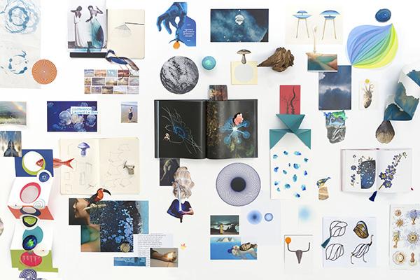 </em>Il collage <em>Automne</em>(© Constance Guisset Studio)