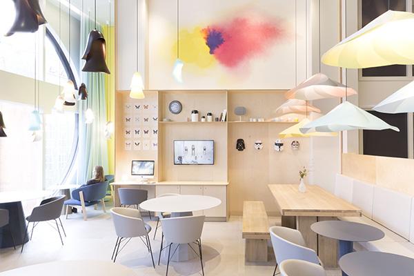 Il design studiato da Constance Guisset per il Novotel Suites (© Constance Guisset Studio)