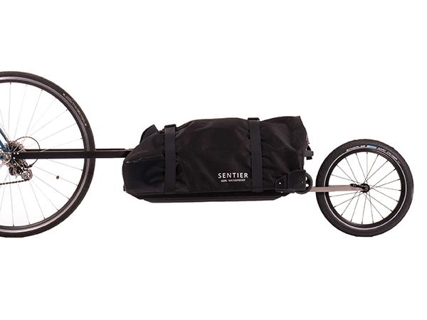 Bike Trolley, bagaglio da bici. Produttore Sentier. Design Andrea Signoretto