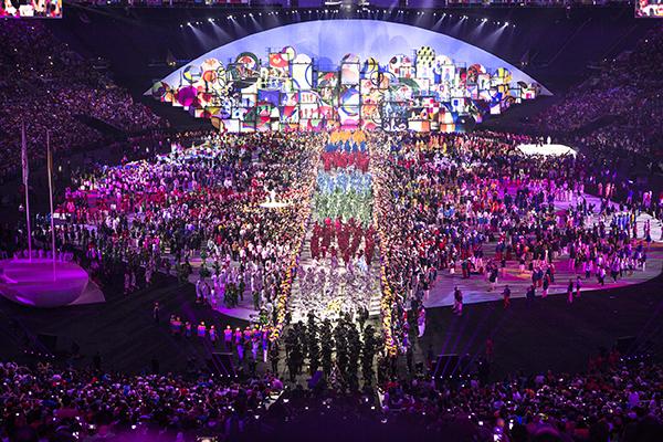 Olympics opening ceremony Rio 2016. Produttore Rio 2016. Design Marco Balich – CC 2016