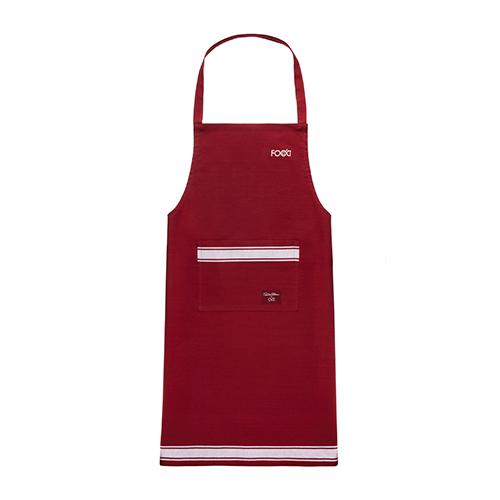 """È l'ideale per chi ama stare ai fornelli: il grembiule da chef. Questo è firmato da Davide Oldani per <a href=""""http://www.ovs.it"""">Ovs</a> e fa parte di una ricca collezione di articoli tessili pensati sia per la tavola che per la cucina (12,99 euro)"""
