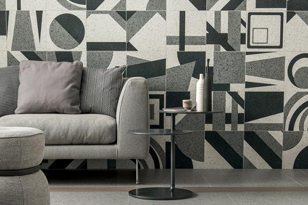"""Pattern geometrici danno forma alle ultime novità in grès porcellanato di casa <a href=""""http://www.caesar.it"""">Caesar</a></span></p>"""