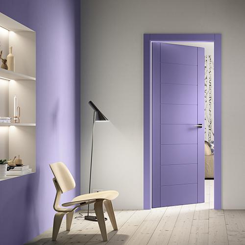 "La porta <em>Intaglio/8</em> di <a href=""http://www.ferrerolegnoporte.it/"">FerreroLegno</a>"