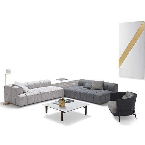 """<a href=""""http://www.arflex.it/"""">Arflex</a>  celebra a Colonia i 50 anni di <em>Strips</em>, il divano disegnato alla fine degli anni Sessanta da Cini Boeri"""