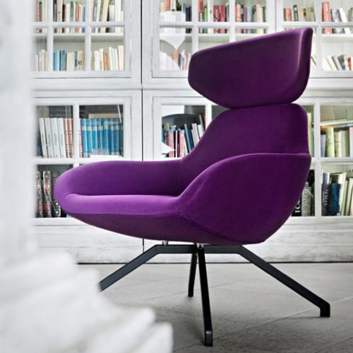 """La poltrona lounge <em>X 2 Big</em>di <a href=""""http://www.alma-design.it/"""">Alma Design</a>"""