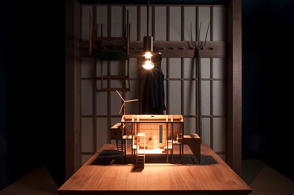 L'allestimento scenografico <em>Beata Solitudo</em> di Giuseppe Arezzi  per il progetto <em>Una stanza tutta per sé</em> (foto Francesco Conti)