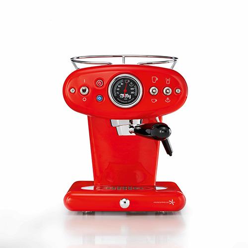 """La macchina per il caffè <em>X1 Anniversary Iperespresso</em> di <a href=""""http://www.illy.com"""">illycaffè</a> (da 399 a 499 euro)"""