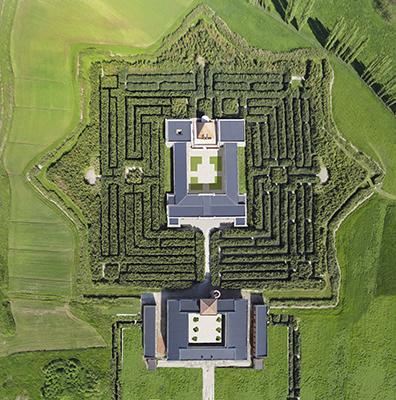 Il Labirinto della Masone ospita oltre 300mila esemplari in tre chilometri