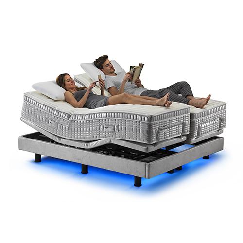 Anche il sonno entra nell'era della tecnologia con Smartech di Magliflex che offre la possibilità di ottenere una valutazione degli stadi del riposo in modo tale da poterne monitorare ogni notte la durata, la stabilità e la profondità