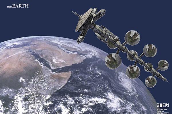 La spedizione ideata è diretta verso il futuro dell'abitare su Marte. Perché immaginare una vita altrove futura, aiuta a migliorare il presente (foto di Stefano Boeri Architetti)