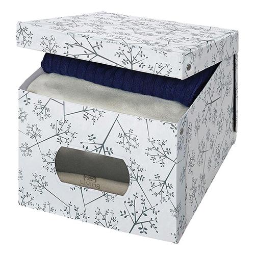 La scatola guardaroba in formato XL della linea Bon Ton di Domopak Living