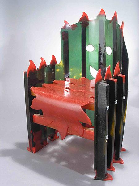Sedia in resina per bambini (2004)