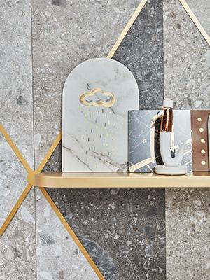 Un particolare dello spazio curato da Matteo Cibic con Studio Blanco( foto Omar Sartor)