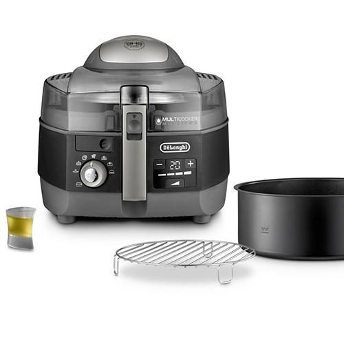 Multicooker multifunzione di De'Longhi (FH 1396 extra chef plus) è dotato di 3 funzioni in un solo prodotto. È forno, padella e grill