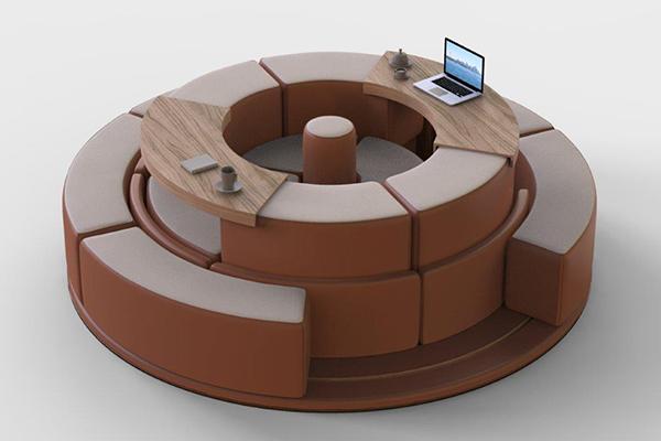 <em>Orbit</em> di Arthur Roth Le Gentil: sistema di arredo interattivo personalizzabile tramite l'utilizzo di dispositivi mobili