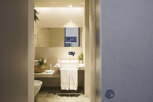 Un esempio di sala da bagno del VOI Marsa Siclà