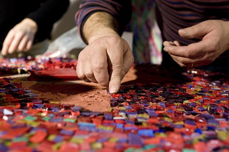 MAM 2018 aGiulio Candussio per la categoria Mosaico e pietra