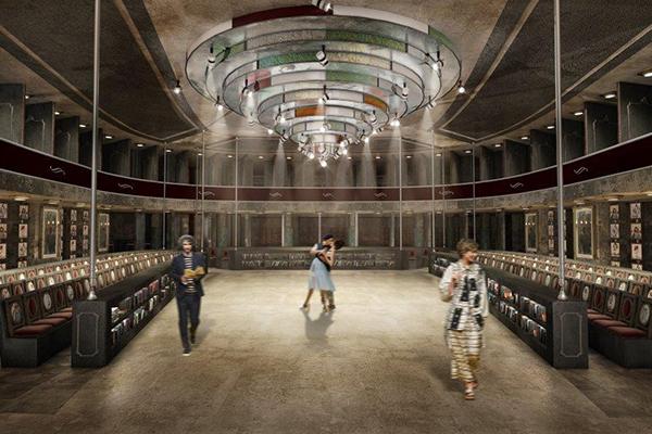 <em>Boundless Circle</em> di Natali Vorotnykova: progetto di riconversione del Teatro Manzoni (Milano) - Nuova sede e spazio multifunzionale per il marchio, Antonio Marras